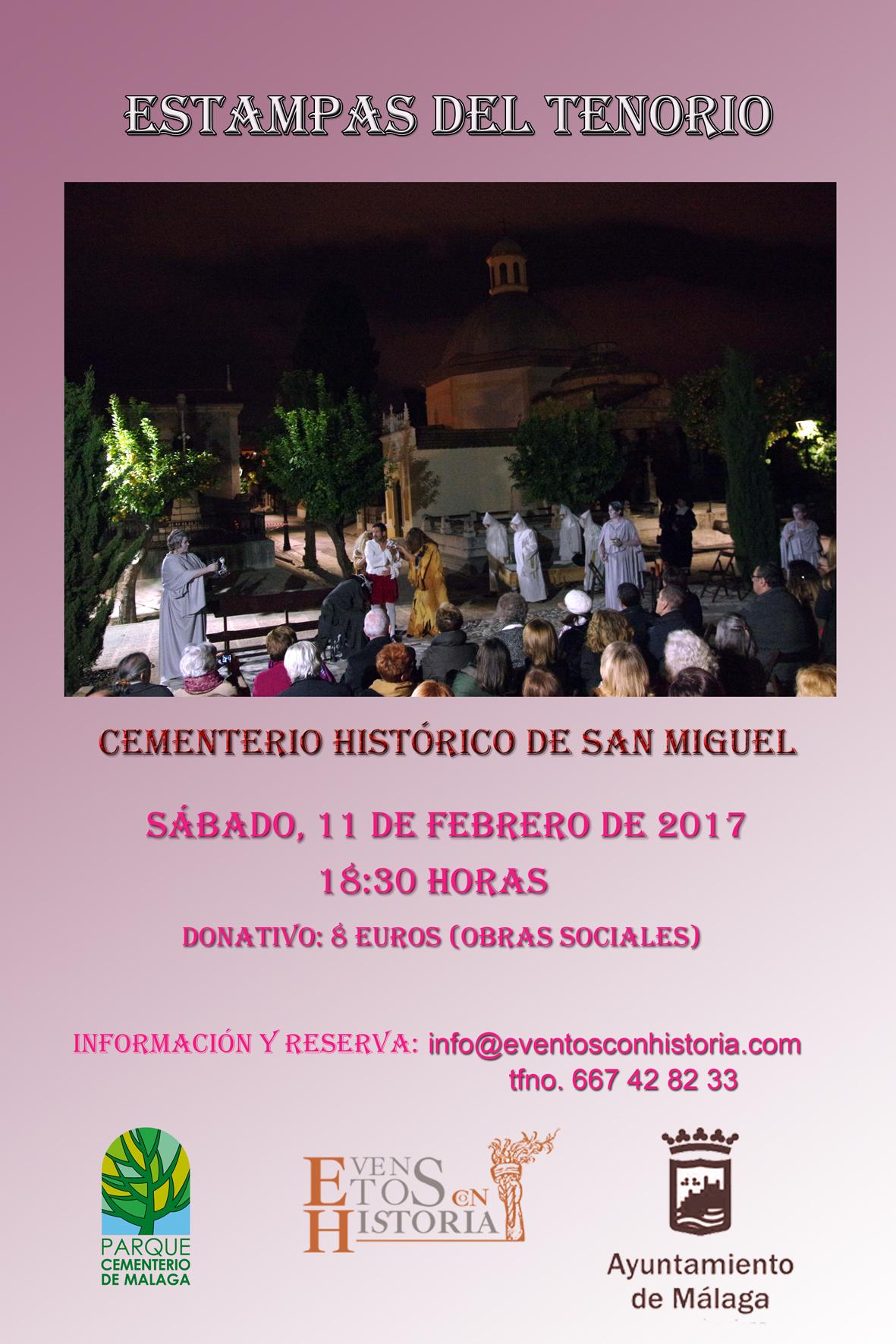 cartel ESTAMPAS DEL TENORIO febrero 2017