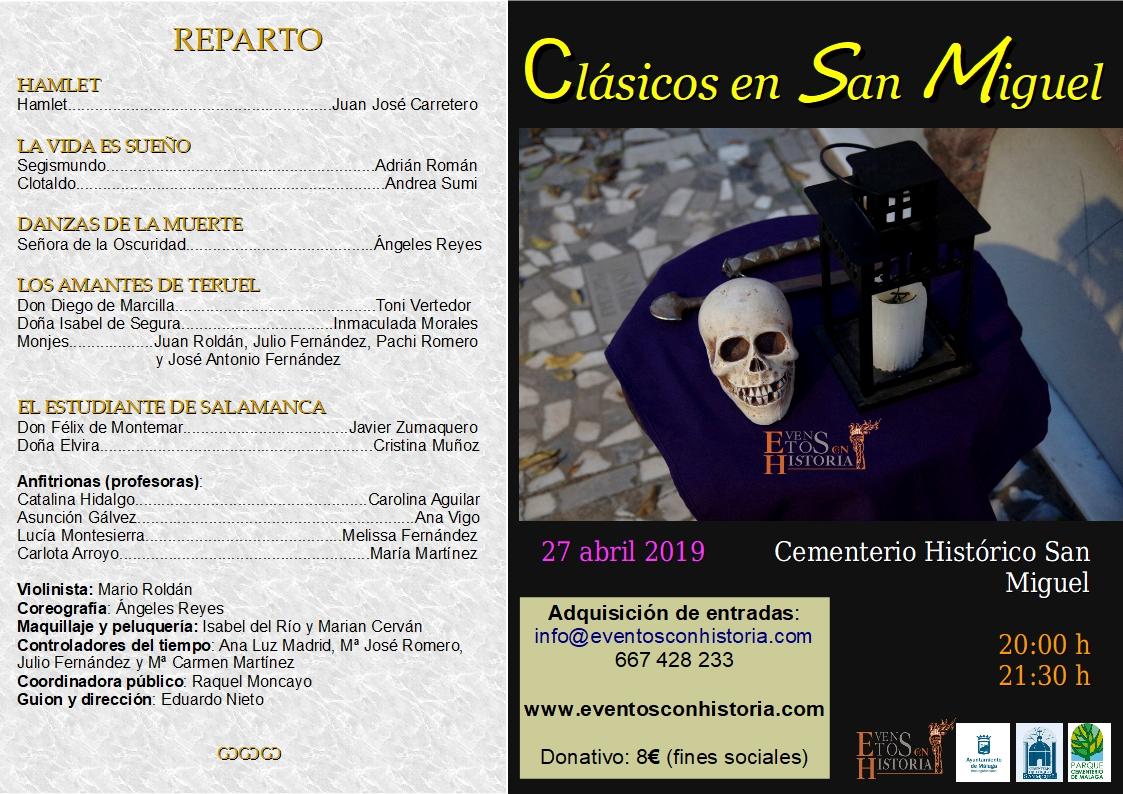 Reparto Clasicos en San Miguel 2019