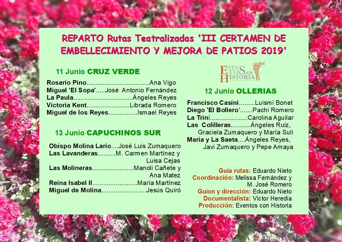 Reparto Corralones Visitas Teatralizadas_2019