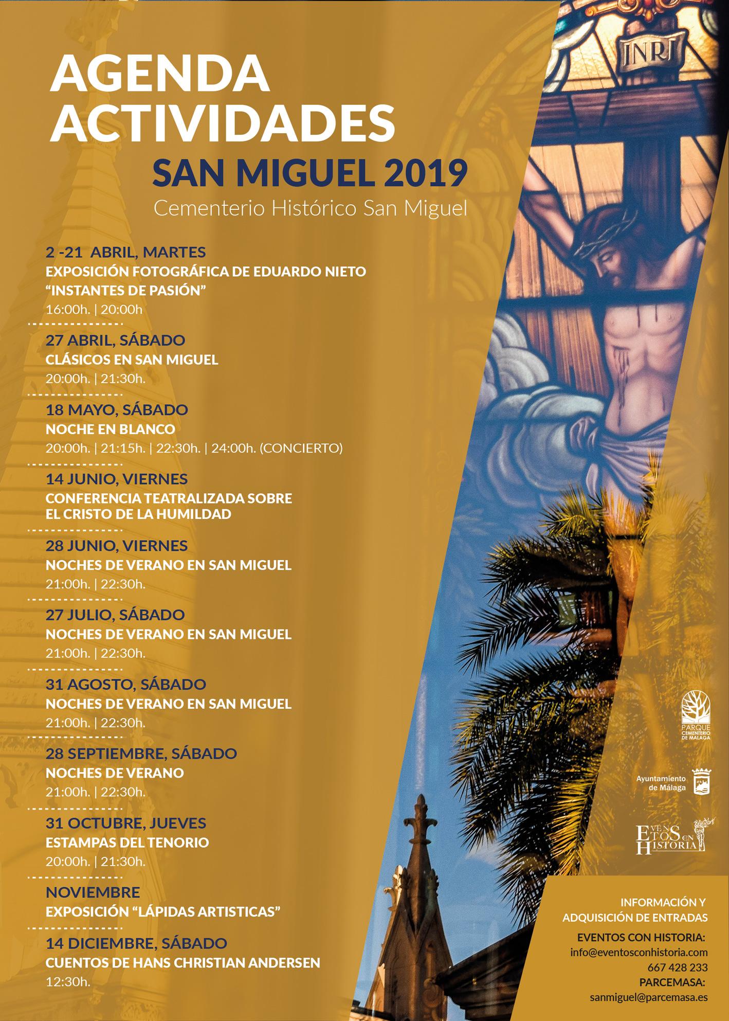 AGENDA DEFINITIVA SAN MIGUEL 2019