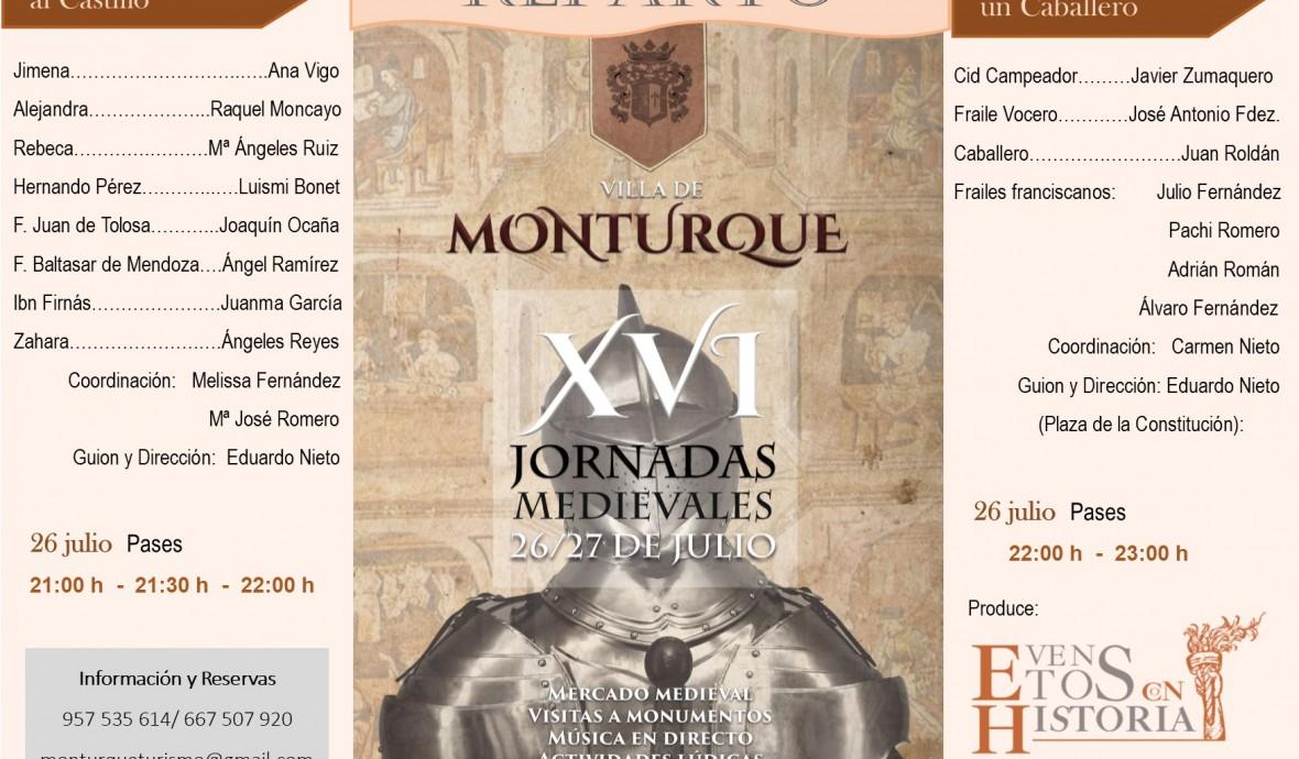 Reparto Jornadas Medievales